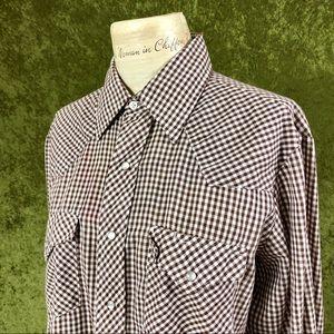 Vintage Shirts - LAST CHANCE⚡️1970s Envoy western pearl snap